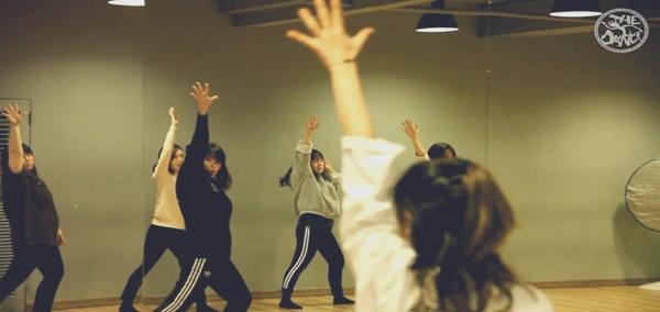 더댄스 스타일리시재즈반 수업영상
